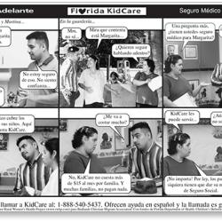 """""""Un paso adelante"""" Novela strip (A Step Forward)"""