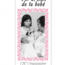 Por el bien de tu Bebé (For the Well-Being of your Baby)