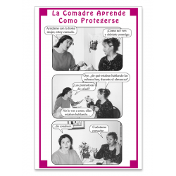 """La Comadre Aprende Como Protegerse"" Fotonovela"