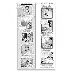 """""""Como Usar un Condón"""" Novela strip"""