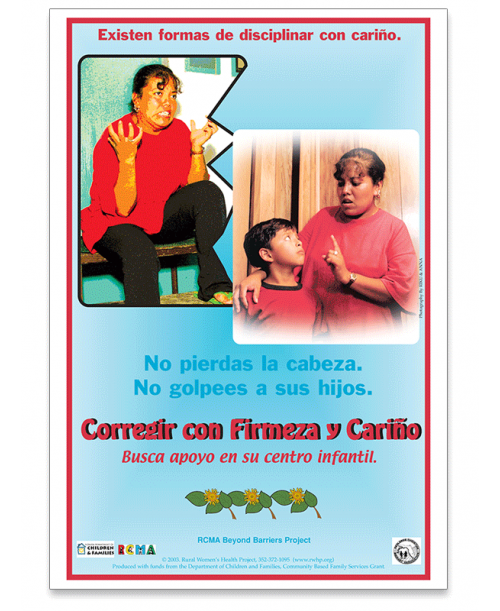 Corregir Con Firmeza y Cariño Poster (Positive Discipline with Love) - Spanish