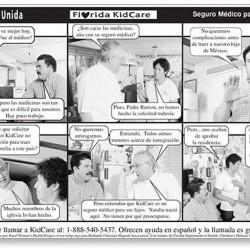 """La Familia Unida"" Novela strip"