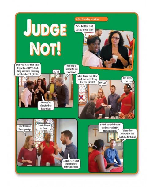 Judge Not! Fotonovela