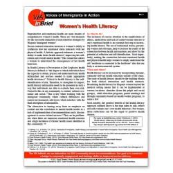 Women's Health Literacy Brief