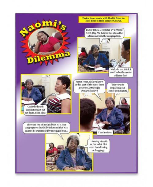 Naomi's Dilemma Fotonovela