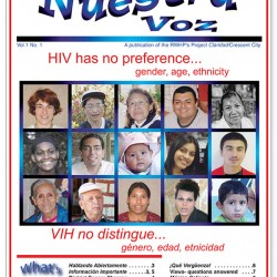Nuestra Voz Volume 1, Issue 1