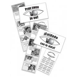 ¡OJO! con tu vista - Pocket Brochure for men