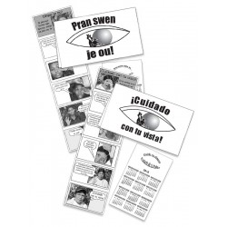 ¡OJO! con tu vista - Pocket Brochure for women