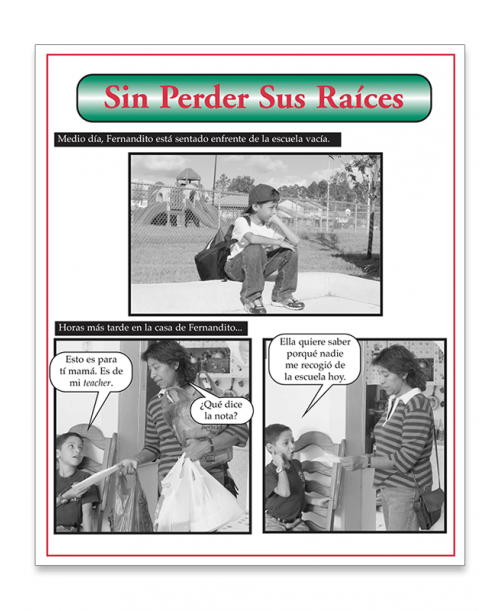 Sin Perder Sus Raices Fotonovela (Without Losing your Roots) - Spanish