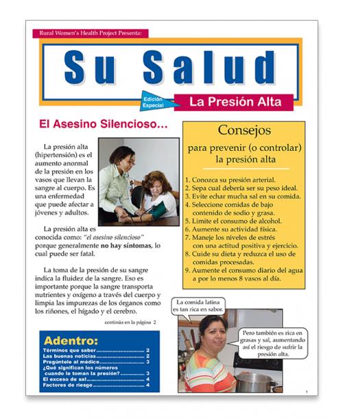 Presión Alta (Hypertension)