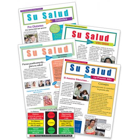 Chronic Health Sampler: Su Salud Magazine Series (with complimentary Pocket Card)