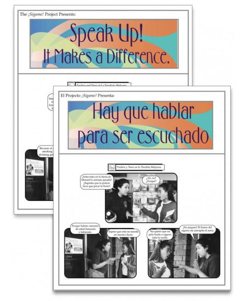 Hay que hablar para ser escuchado (Speak Up! It Makes a Difference) Fotonovela