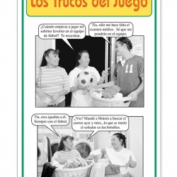 """Los trucos del juego"" Fotonovela (Tricks of the Game)"