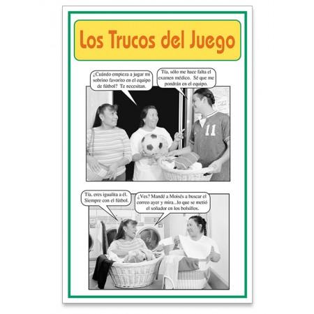 """Los trucos del juego"" Fotonovela (Tricks of the Game)"