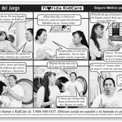 """Los trucos del juego"" Novela strip (Tricks of the Game)"