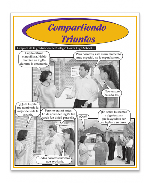Compartiendo Triunfos Fotonovela (Sharing Triumphs) - Spanish