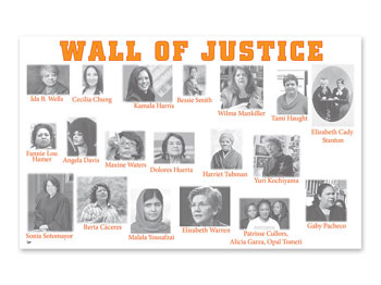 Wall of Justice Poster